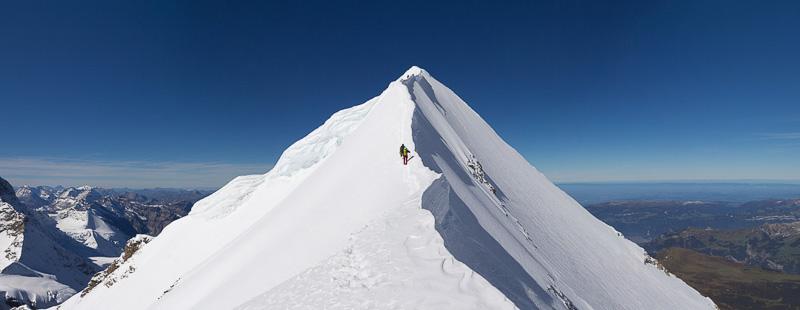 Climbing the Moench