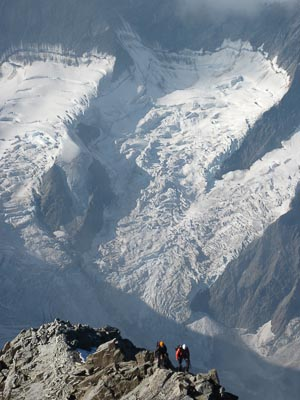 Climbing Swiss Alps