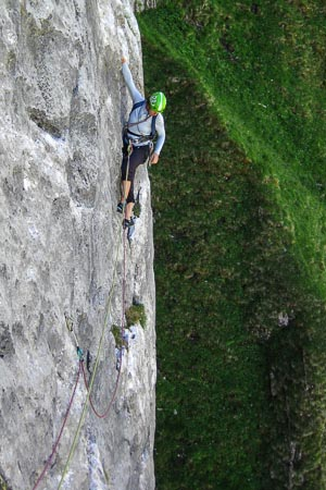 Rock Climbing Swiss Alps