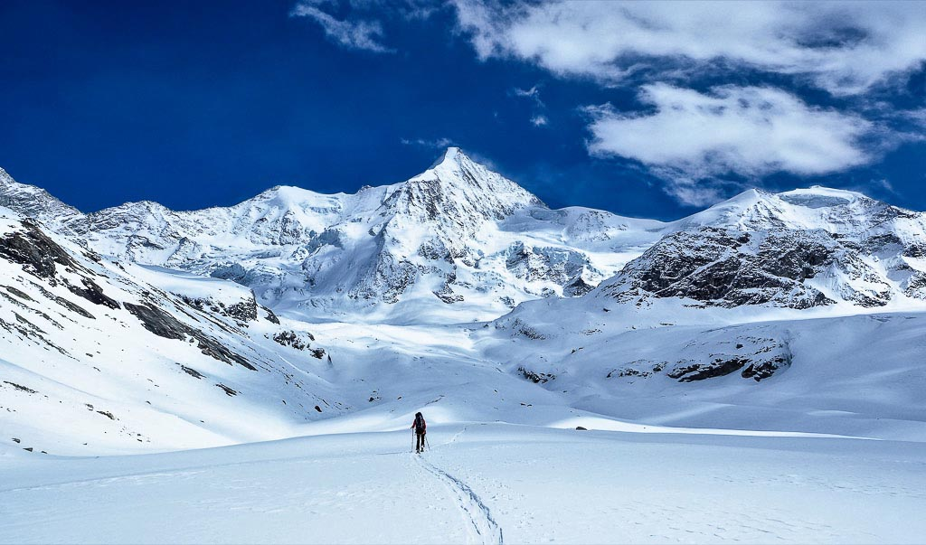Ski Touring Swiss Alps