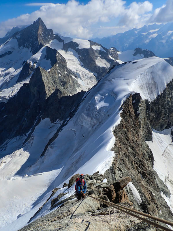 Summit Of The Obergabelhorn